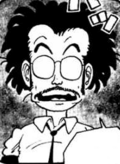 Senbei's father manga