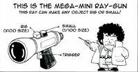 The big-small ray gun