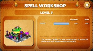 Spell workshop