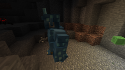 Cave ogre in a cave