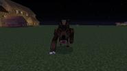 Werewolf attacking