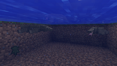 Dragons swimming