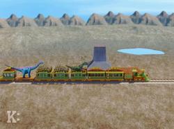 Parasaurolophus Plains Station 1