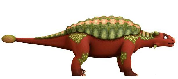 dinosaur train ankylosaurus - photo #2