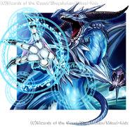 Change the World, Blue Divine Dragon artwork