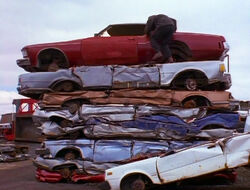 Car Pile The Duel