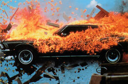 Buick Riviera Burning Down the House