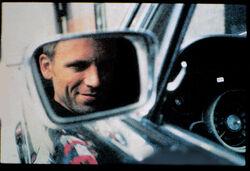 Stanley Raymond Kowalski Car Mirror