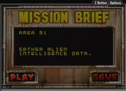 Area 51 Mission Brief