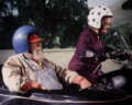 Miz Tisdale on her motorcycle.png