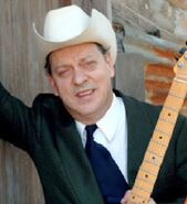 Junior Brown as the Balladeer