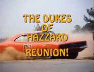 The Dukes of Hazzard, Reunion