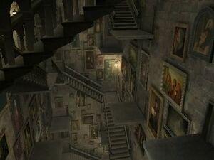 Grand Staircase Hogwarts