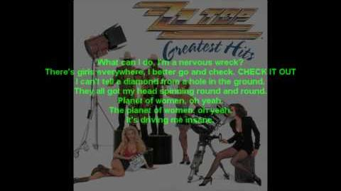 ZZ Top- Planet Of Women (WITH LYRICS HQ)