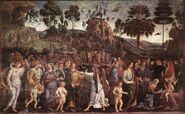 Perugino mozes egypte