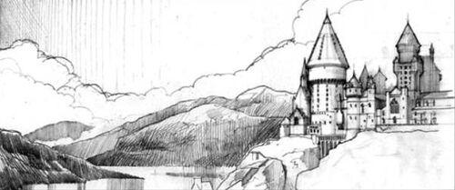 Hogwarts Lewis's Sketch