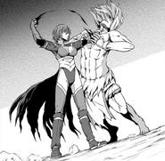 Revis Kills Olivas - Sword Oratoria Manga