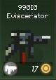 Item w 99GIG eviscerator green