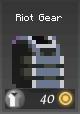 Item a riot gear grey