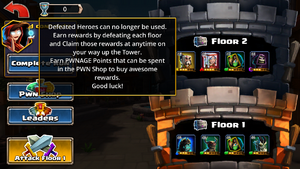 Tower of pwnage floor 1