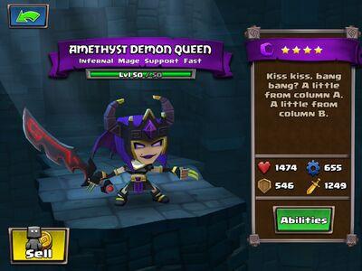 Amethyst Demon Queen