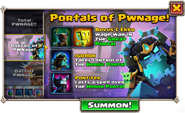 Portals of PWNage