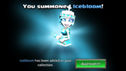 Icebloom Summoned
