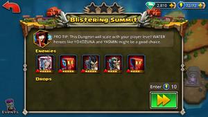 Blistering Summit 1
