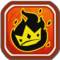 Royal Crit Fire Icon
