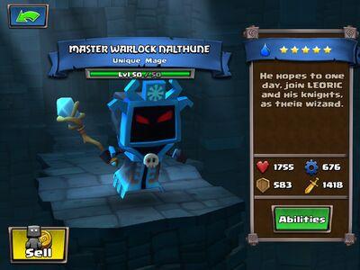 Master Warlock Nalthune Lvl 50