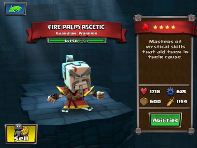 Fire Palm Ascetic