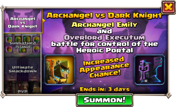 Portal Event Archangel Overlord