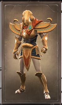 Fiery avatar of the sun