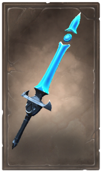 Graceful rimecrystal blade