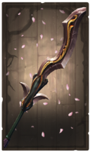 Unerring moonshadow glaive