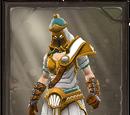 Glowing Avatar of Hermes