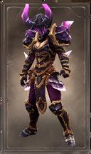 Horned crystalmar armor