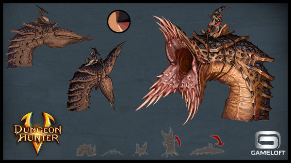 Concept arts bosses ashtak