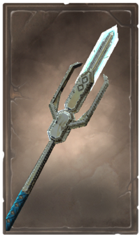 Snowrend glaive