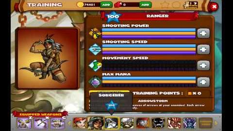 Dungeon Rampage on Facebook - Training Points All Heroes - 17.04.2013