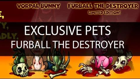 Dungeon Rampage - Furball The Destroyer ( Exclusive Pet )