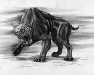 Shadow mastiff pencil