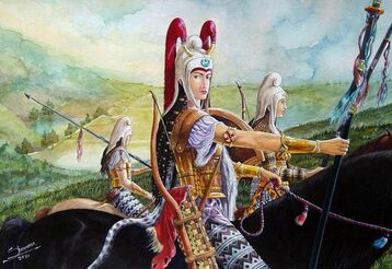 Iranian Women Warriors