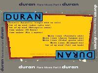Duran duran rare mixes 2 back