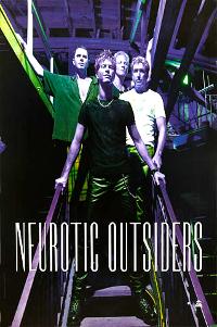 Poster duran duran neurotic outsiders 1