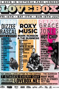 Lovebox weekender london wikipedia festival mark ronson