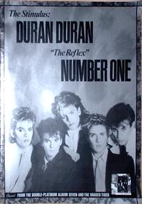 Duran duran the reflex poster g