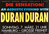 Hamburg germany duran duran live shows dates tour discogs