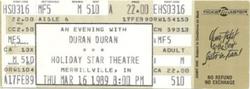 Holiday Star Plaza, Merrillville, IN, USA wikipedia duran duran ticket
