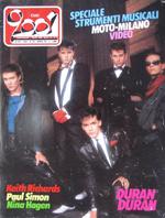 Ciao 2001 italy magazine Duran Duran Paul Simon Nina Hagen Righeira Keith Richards Fixx wikipedia 1983 no